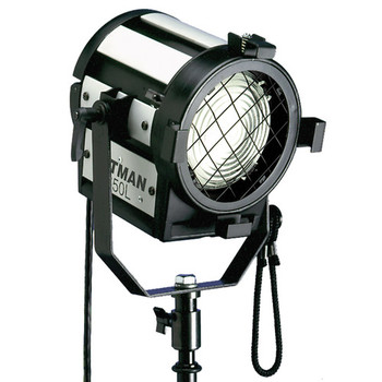 Rent Altman 650L 650w Fresnel Light w/impact yoke and short cable.