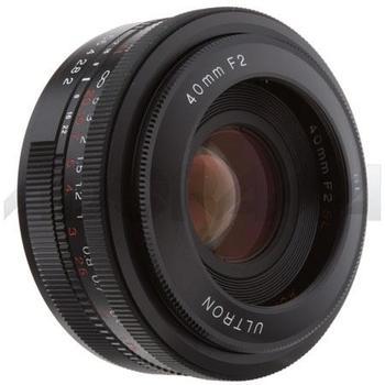 Rent Voightlander Ultron 40mm F2 Nikon Prime Lens w/hood