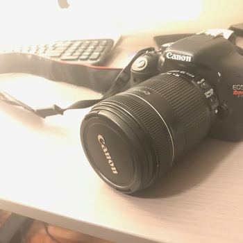 Rent Canon T2i with lens