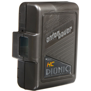 Rent 1 set of (3) Anton Bauer DIONIC-HC Lithium-Ion Batteries with charger