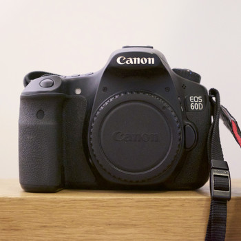 Rent Canon 60D 3-Lens Kit