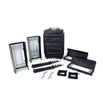 Rent Kino Flo Diva-Lite 401 2-Light Flight Case Kit