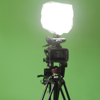 """Rent Filmmaker's Kit with HDV Camera, Tripod, On-Camera LED Light and 7"""" HDMI Monitor"""