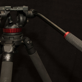Rent 502HD Pro 70mm Video head and tripod 75mm bowl