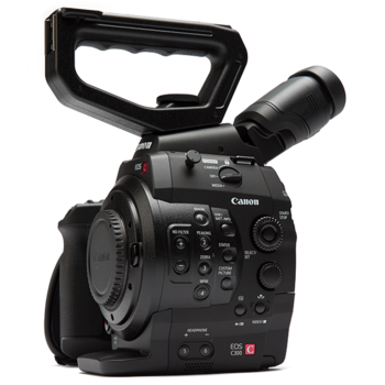 Rent Canon C300 EF Mount Camera