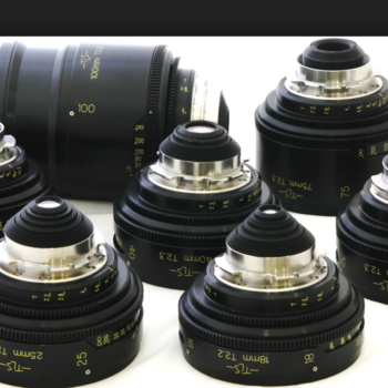 Rent Cooke Speed Panchro Lens Set - (18, 25, 32, 40, 50, 75, 100) t2.3
