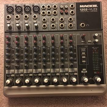 Rent Mackie 1202VLZ3 12-Channel Mixer