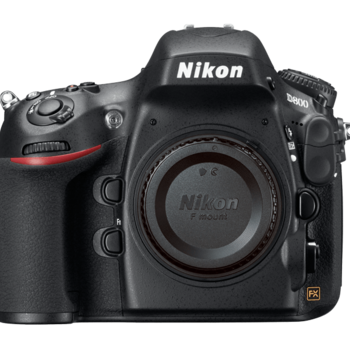 Rent Nikon D800 full frame DSLR Camera body. Includes battery, charger, and SD card