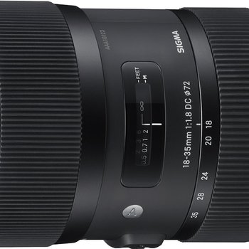 Rent Sigma 18-35mm f/1.8 EF for Canon