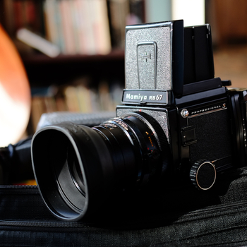 Rent Mamiya RB67 package