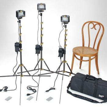 Rent Portable Lowel Blender 3 Light Kit + Filters
