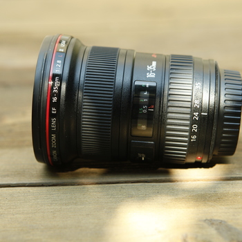 Rent Canon EF 16-35mm f/2.8L II USM Zoom Lens
