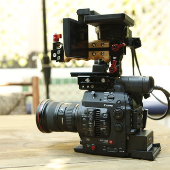 Rent Canon C300 Mark II w/ choice of Canon L series lens