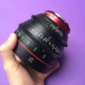 """Rent Canon cn-e 35mm Cine prime T1.5 CF13"""""""