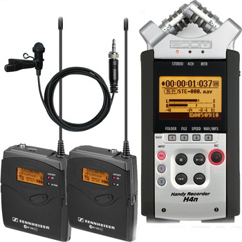 Rent Zoom H4N with Sennheiser Wireless Lavalier 112-P G3