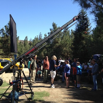 Rent 18' Cammate Jib - Fully remote head with 120lbs max payload
