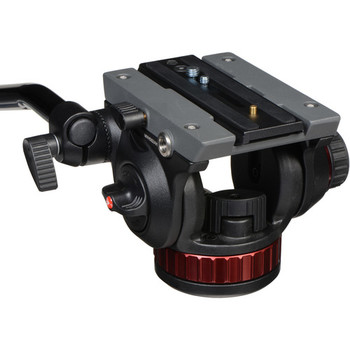 "Rent  Manfrotto 502HD Pro Video Head with Flat Base (3/8""-16 Connection)"
