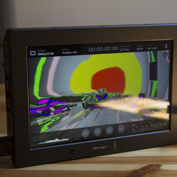 """Rent Blackmagic Video Assist 4K 7"""" Monitor and Recorder, Accessories included, Ready to Go"""