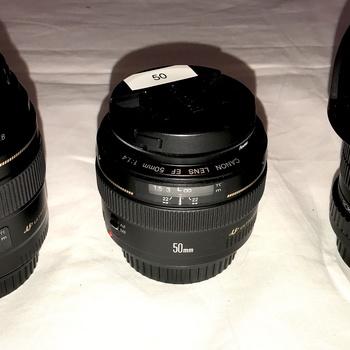Rent CANON EF PRIME LENS KIT: Canon 85mm/1.8, Canon 50mm/1.4 + Rokinon 8mm 3.5 Fisheye