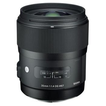 Rent Sigma - 35mm f/1.4 DG HSM Art Standard Lens