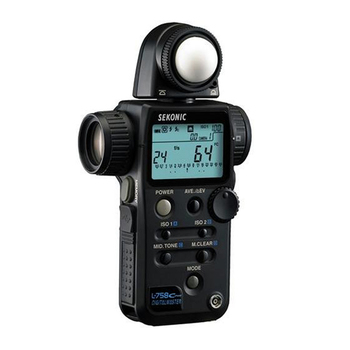Rent Sekonic L-758C Cine Digitalmaster Light Meter