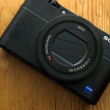 Rent Sony RX100 V + 32GB SD