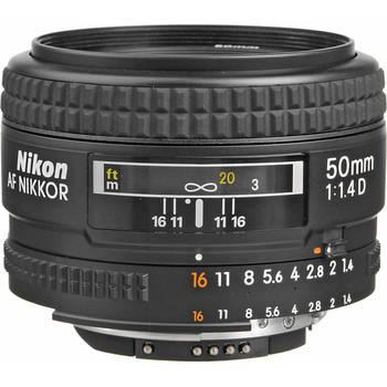 Rent Nikon AF FX NIKKOR 50mm F/1.4D DSLR Lens