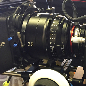 Rent Rokinon Xeen 35, 50, 85 Cinema lens kit (EF mount)