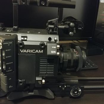 Rent Varicam LT with VF and Shoulder mount kit.