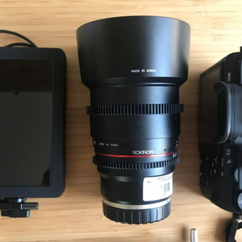 Rent Sony A7Sii Cinema Kit