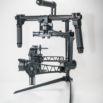 Rent 3-axis handheld Gimbal stabilizer for DSLRs