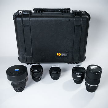Rent 5 lens prime kit for Nikon Mount