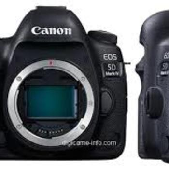 Rent Cannon 5D Mark IV