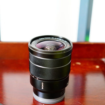 Rent Sony 16-35mm f4.0 wide angle lens for full and aps-c sony cameras