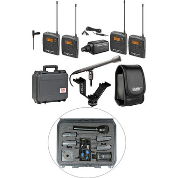 Rent Dual Wireless Audio Production Kit
