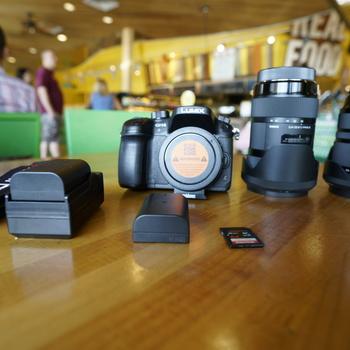 Rent Panasonic GH4, Metabones speedbooster XL .64x, Sigma 24-105mm f4, Sigma 18-35mm f1.8, 64gb card, two batteries..