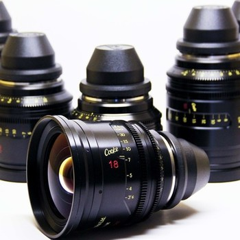Rent Cooke Mini S4/I Prime 6 Lens Set!