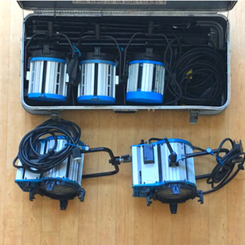 Rent Arri Tungsten Lighting Kit! (1k's and 2k's)
