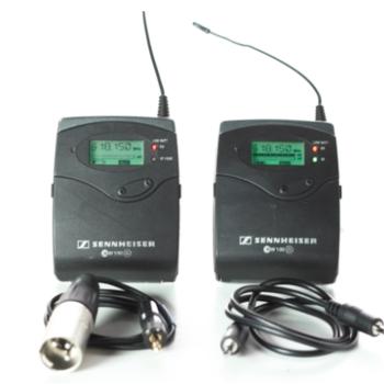 Rent Sennheiser EW 100 ENG G2 Wireless Lavalier Microphone Kit