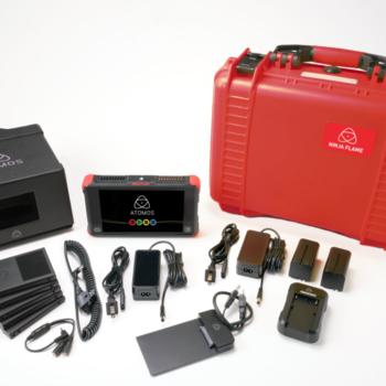 Rent Atomos Ninja Flame with 480GB SSD, hood and hard case