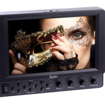"""Rent Ikan 7"""" Wireless HDMI Director's Monitor with Handles"""