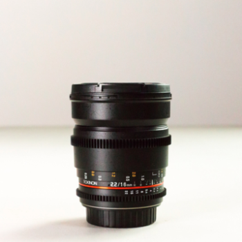 Rent Rokinon 16mm EF-S Lens