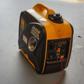 Rent Wen Ultra Quiet 1600 Running Watt Generator