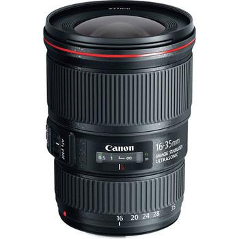 Rent Canon 16-35mm f4 L-Series IS USM EF Zoom Lens