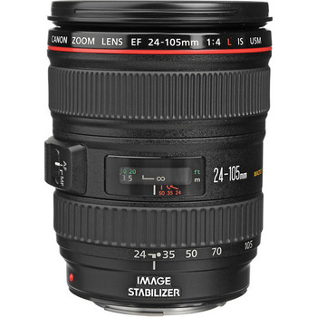 Rent Canon 24-105mm f/4 L-Series IS USM Ultrasonic EF Zoom Lens