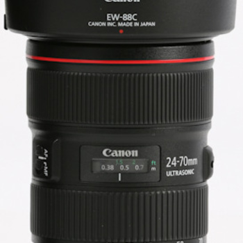 Rent Canon 24-70 2.8L Lens Mark II