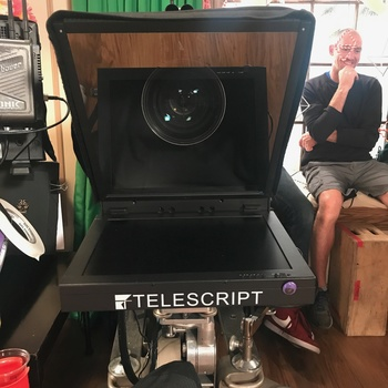 Rent On-Camera Teleprompter