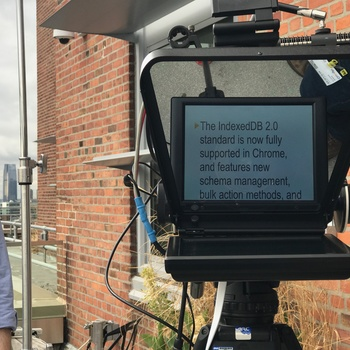 Rent 10.4 Inch On-Camera Teleprompter