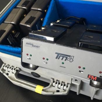 Rent 6x HCX Anton Bauer batteries + quad charger