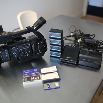 Rent Sony EX1-R Documentary Kit